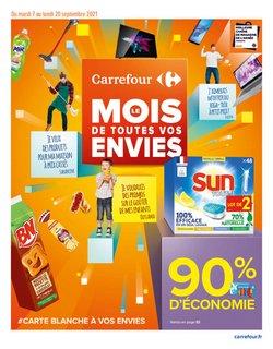 Promos de Hyper-Supermarchés dans le prospectus à Carrefour ( 4 jours de plus)