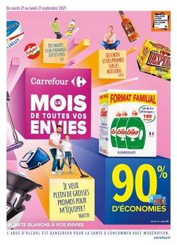 Promos de Hyper-Supermarchés dans le prospectus à Carrefour ( Expire ce jour)