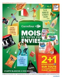 Promos de Hyper-Supermarchés dans le prospectus à Carrefour ( 9 jours de plus)