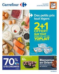 Promos de Hyper-Supermarchés dans le prospectus à Carrefour ( 2 jours de plus)