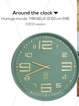 Horloge murale offre à 99€