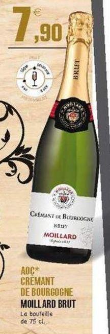 Champagne brut E.Leclerc offre à 7.9€