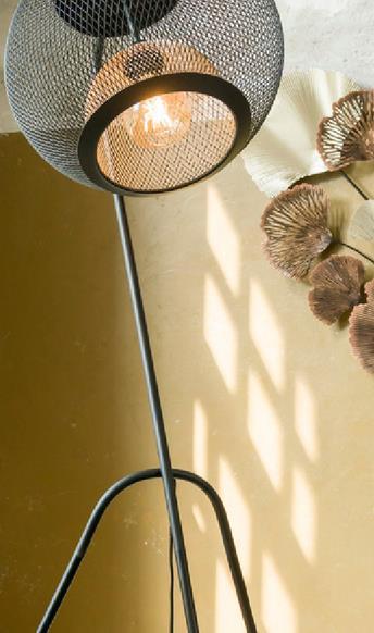 Marco Lampe Sur Pied 1 Ampoule E27 Variateur Inclus