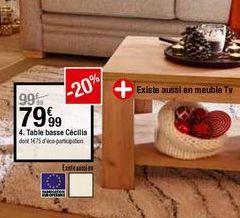 Acheter Table Basse A Creteil Promos Et Offres