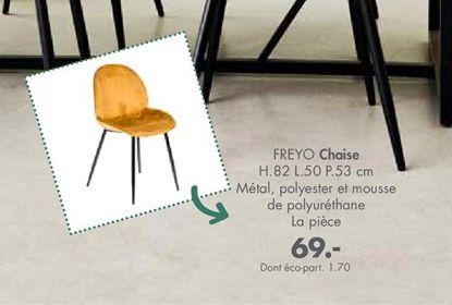 Chaise offre à 69€