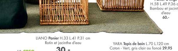 Tapis offre à 29.95€