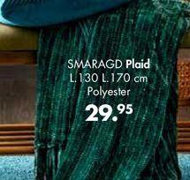 Plaid offre à 29.95€