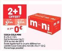 Coca-cola offre à 2.29€