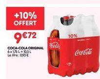 Coca-cola original offre à 9.72€