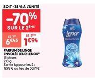 Lenor  de linge envolee d'air lenor offre à 1.94€