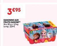 Danonino aux fruits Danone offre à 3.95€