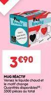 Mug reactif offre à 3.9€