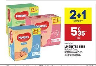 Lingettes bébés offre à 5.35€