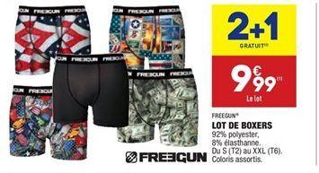Lot de 2 boxers  offre à 6.66€