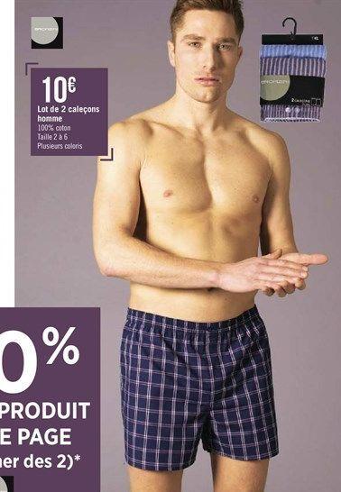 Vêtements hommes offre à