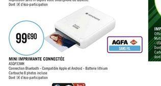 Mini imprimante connectée offre à