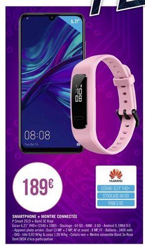 Smartphones + montre connetée offre à
