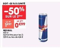 Red bull offre à 1.97€