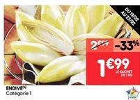 Endive offre à 2€