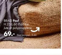 Pouf offre à 69€