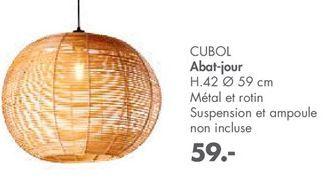 Abat-jour offre à 59€