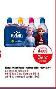 """Eau minérale naturelle """"Evian"""" offre à 4.09€"""