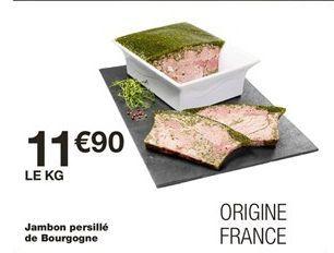 Jambon persillé de bourgogne offre à 11.9€