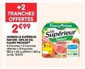 Jambon offre à 2.99€
