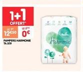 Pampers harmonie t4 x19 offre à 12.5€