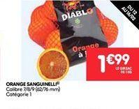 Orange sanguinelli offre à 1.99€