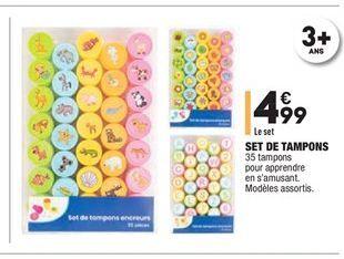 Set de tampons offre à 4.99€