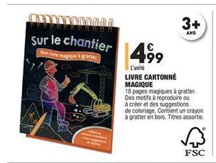 Livre cartonné magique offre à 4.99€