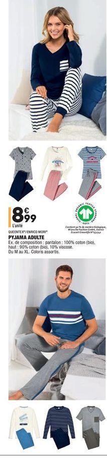 Pyjama adulte  offre à 8.99€