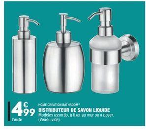 Distributeur de savon liquide  offre à 4.99€
