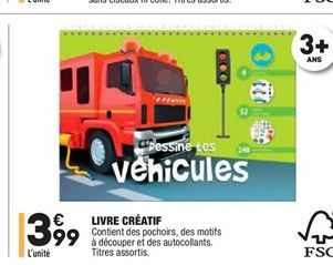Livre Créatif offre à 3.99€