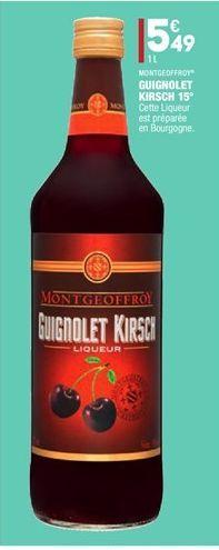 Guignolet kirsch 15º offre à 5.49€