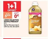 Lenor collection souffle précieux offre à 5.99€