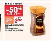 Café du brésil offre à 2.83€