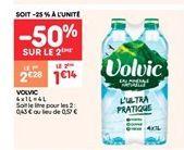 Volvic offre à 1.14€