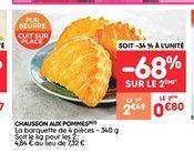 Chausson aux pommes offre à 0.8€
