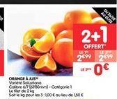 Orange à jus  offre à 2.99€