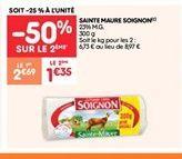 Sainte maure soignon offre à 1.35€