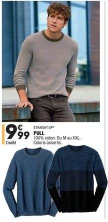 Pull  offre à 9.99€
