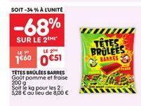 Bonbons offre à 1.6€