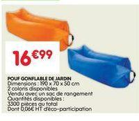 Pouf offre à 16.99€