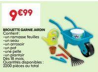 Brouette offre à 9.99€
