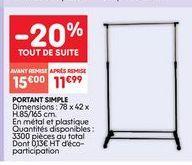 Porte offre à 15€