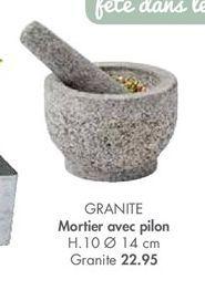 Mortier offre à 22,95€