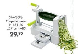 Coupe-légumes offre à 29,95€