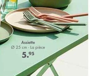 Assiettes offre à 5,95€